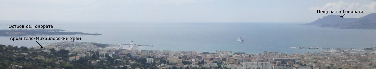 Panorama Cannes-